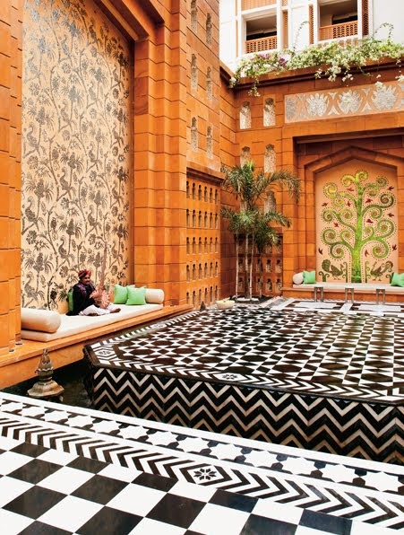 Beauty by girl amazing indian interiors for Elle decor india contact
