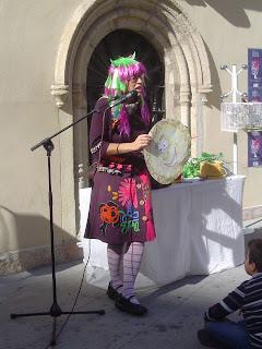 Gracia Iglesias Festival Poesía Música Almería las maracas del grillo plaza Pablo Cazard Carlos Martín
