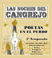 Las Noches del Cangrejo Pistolero quinta temporada Nuria Mezquita y Juan José Téllez