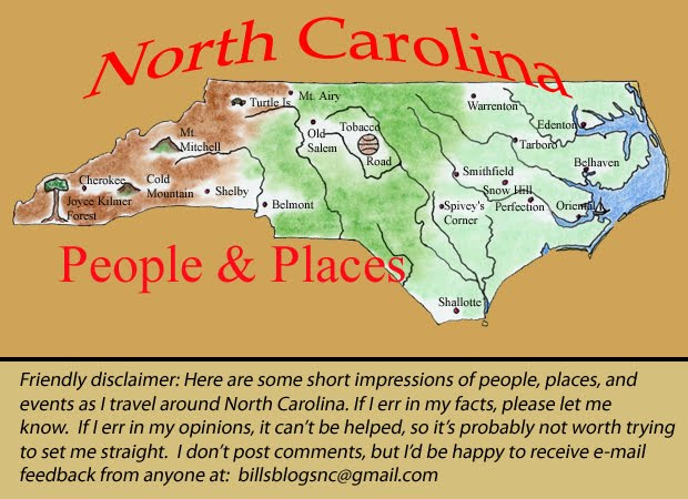 North Carolina, People and Places