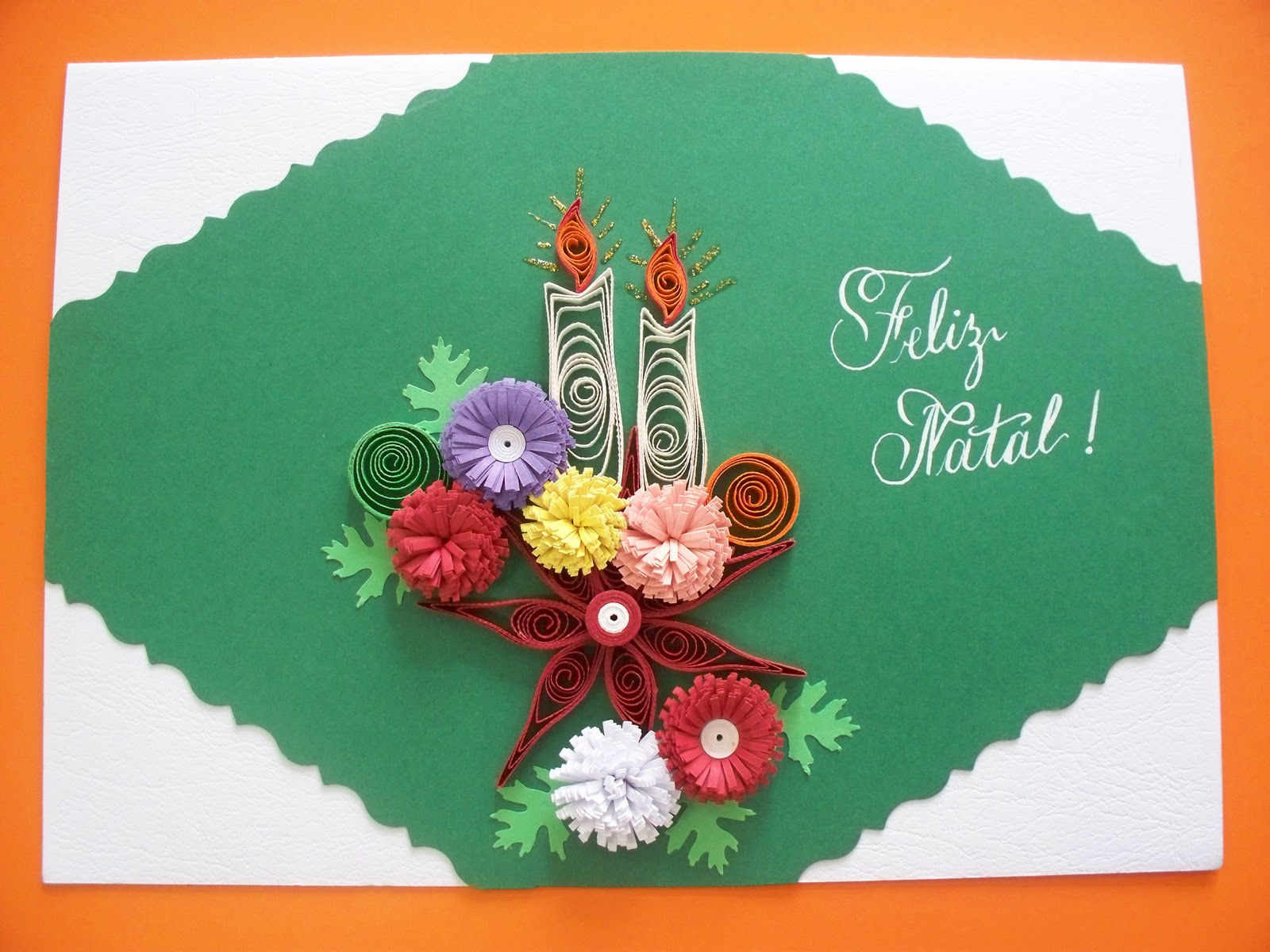Aparador Antiguo Sevilla ~ Labellart Caligrafia Artística e Cartões Artesanais de Quilling Cartões de Natal e Ano Novo de