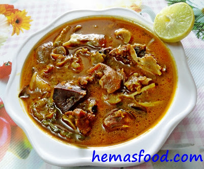 Goat Head Meat Stew