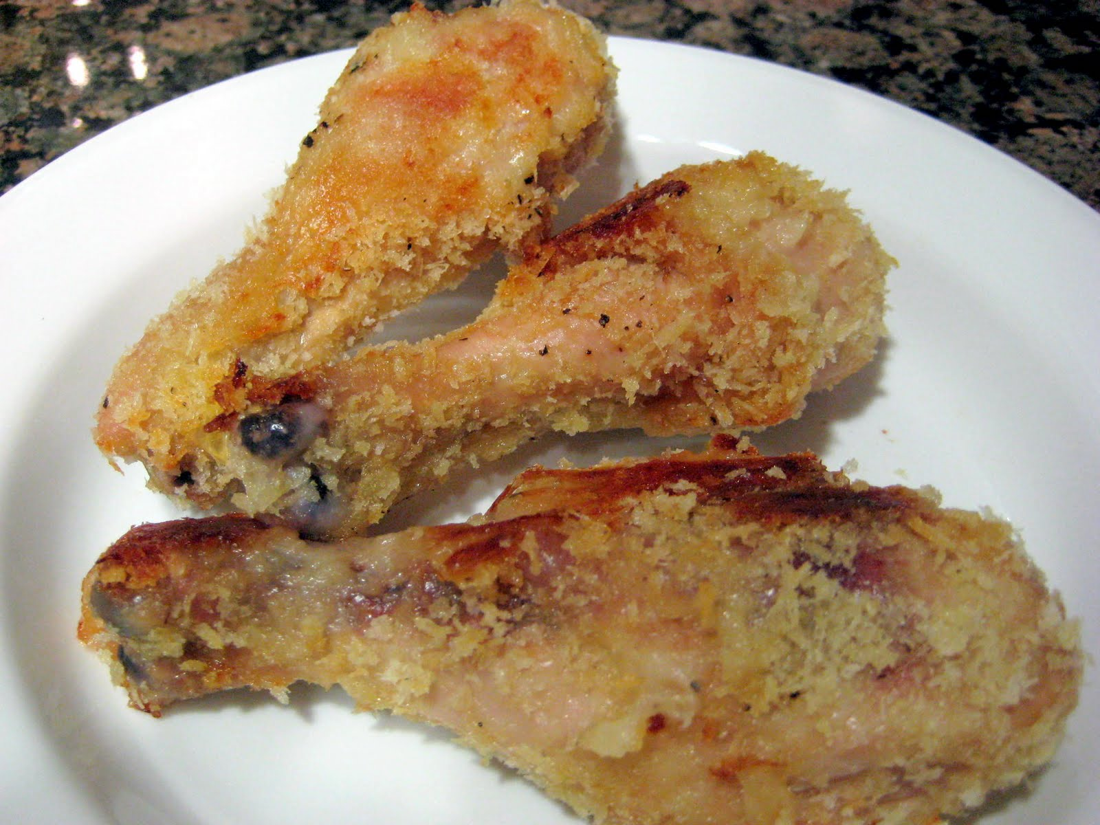 Strawberry and Lemons: Oven Fried Chicken