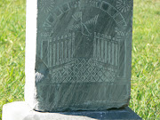 Wordless Wednesday: Tombstone Art. Photos taken at Pioneer Memorial Cemetery .