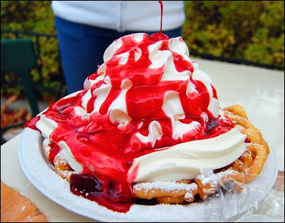 Funnel cake overkill
