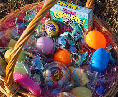 The family Easter basket