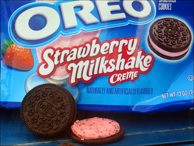Strawberry Milkshake Oreos