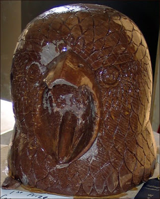 Chocolate eagle head