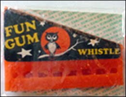Gum Whistle