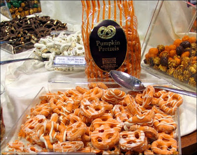 Pumpkin Pretzels