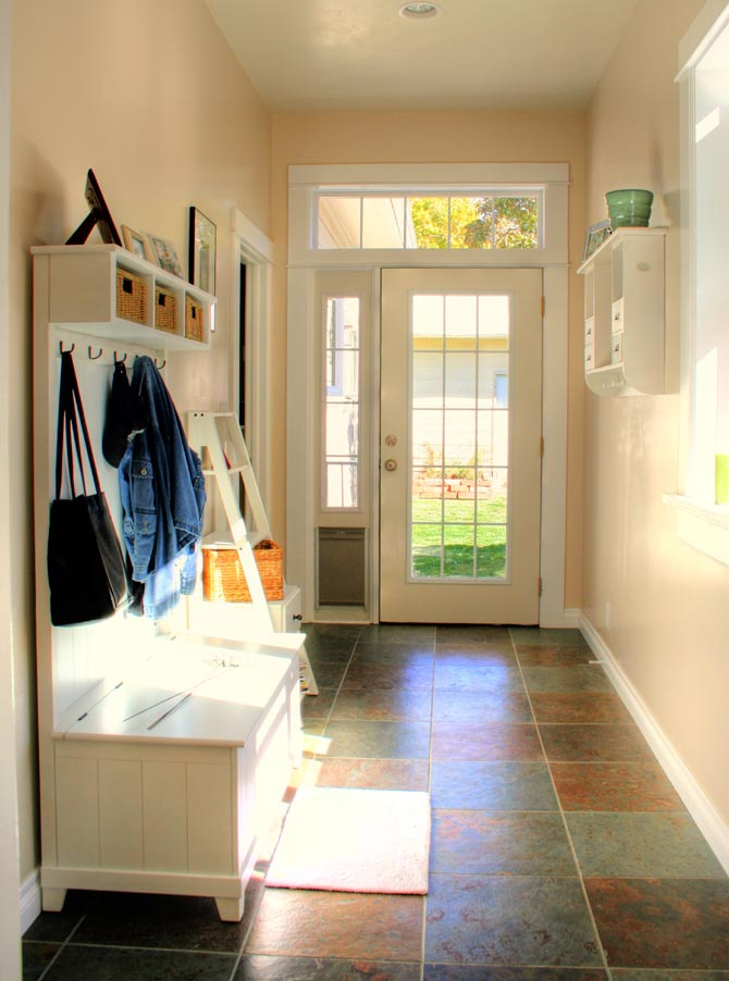 Southern eclectic wishing for a mudroom for Mud room addition ideas