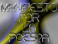 MANIFIESTO POR LA POESÍA