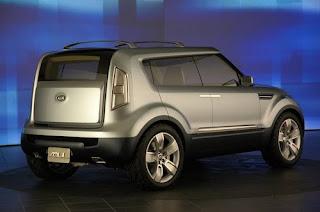 2010 Kia Soul rear pic