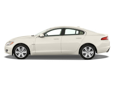2010 Jaguar XF side view