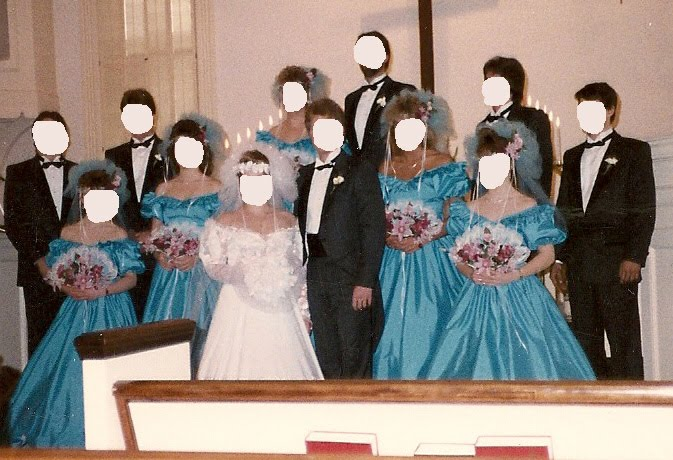 Ugly Fugly Bridesmaid Dresses Pics Of From The 80 S