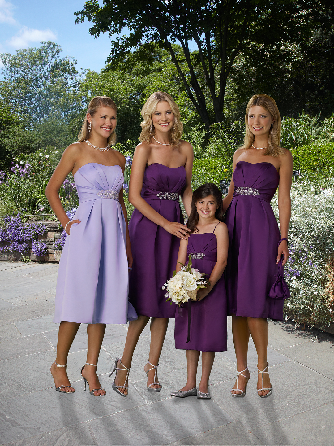 Weddingzilla money saving wedding tips bridesmaid dresses they make inexpensive bridesmaid dresses in tons of colors and sizes that are very close in looks and quality without the price tag ombrellifo Image collections