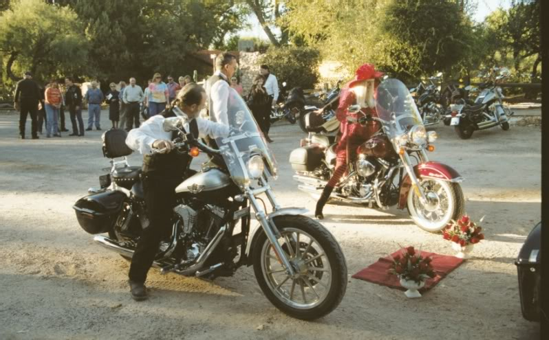 Weddingzilla Biker Motorcycle Weddings