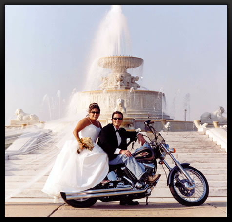 Weddingzilla Biker Motorcycle Wedding Theme