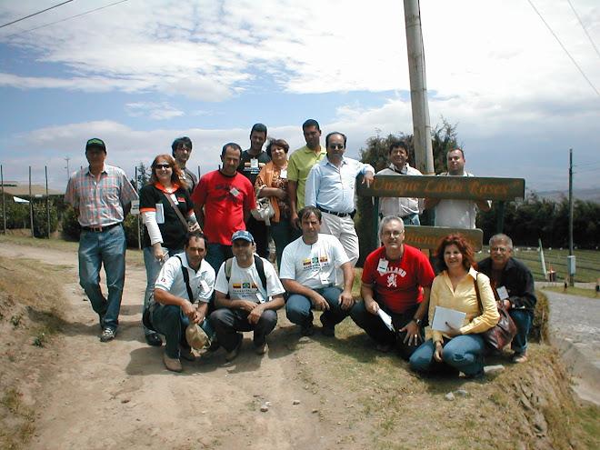 MISSAO FLORICULTURA COLOMBIA / EQUADOR / CARTAGENA DAS INDIAS