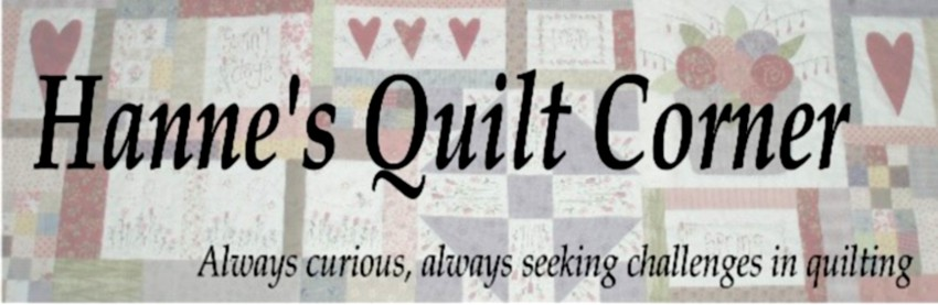 Hanne&#39;s Quilt Corner