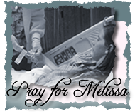 Praising God for Melissa's healing!
