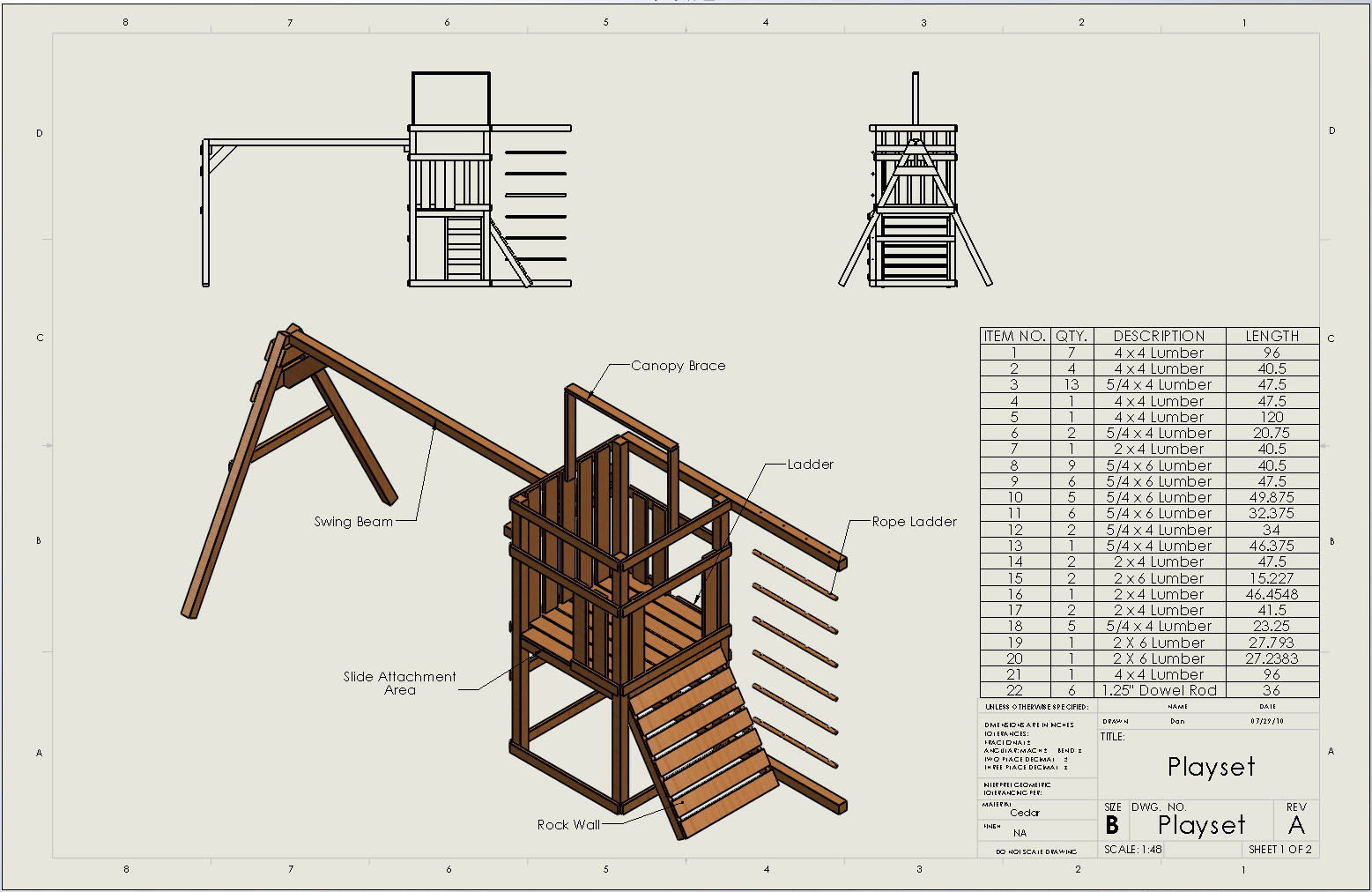 woodwork free wood playset plans pdf plans