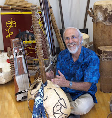 Rod Knight with some of the instruments in his collection