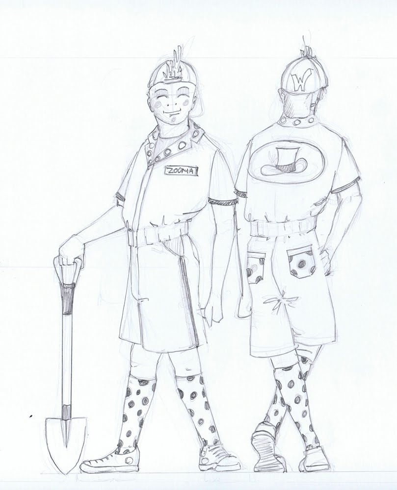 oompa loompa coloring pages - photo#8