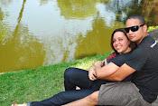 Minha filha Cintia e meu genro Wagner.