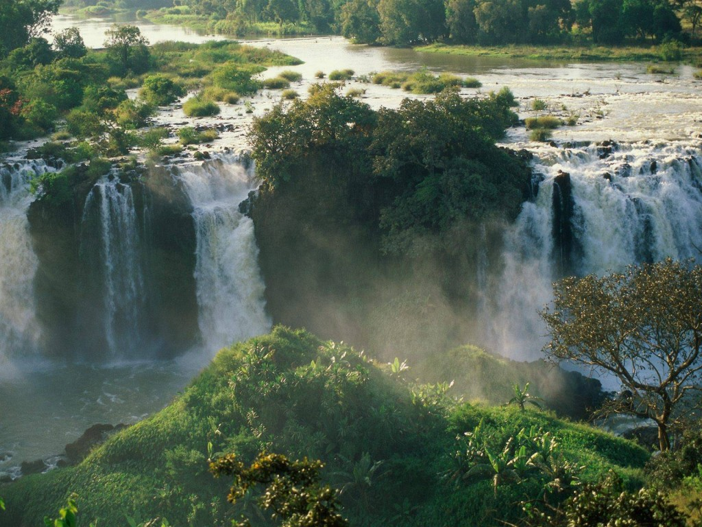 waterfall tourism blue nile fallsethiopia