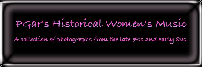 PGar's Historical Women's Music