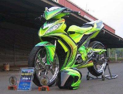 Modif Yamaha Cripton