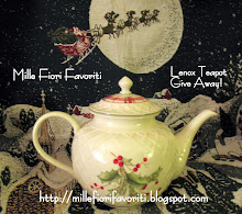 Beautiful Lenox teapot giveaway