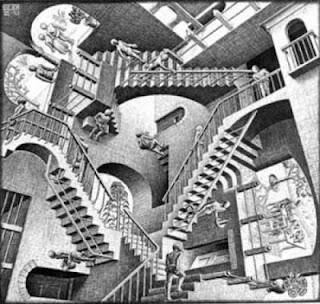 Relativit (Maurits Cornelis Escher) pdia