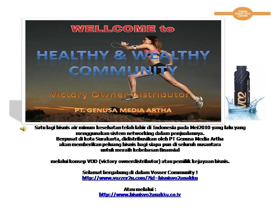 Bisnis Air Minum Kesehatan VO2