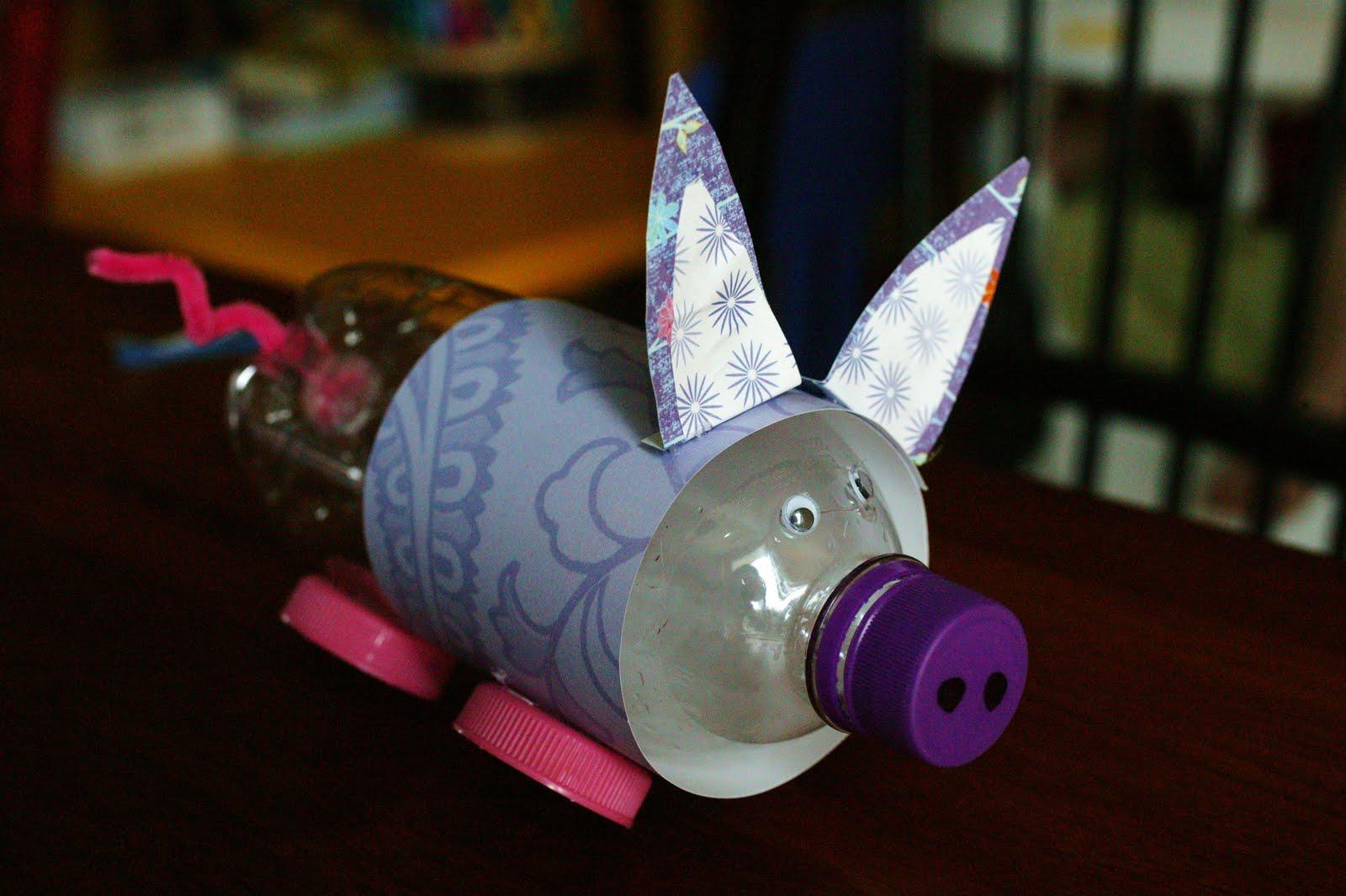Views from my window preschool piggy bank craft for Make a piggy bank craft
