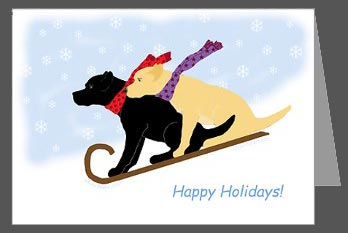 OtterTail Labrador Retrievers & Lab Art by Amy Reges: Yellow and ...