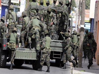 Golpea SEDENA al narco en Puebla