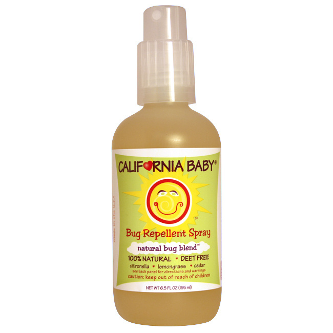 California baby insect repellent