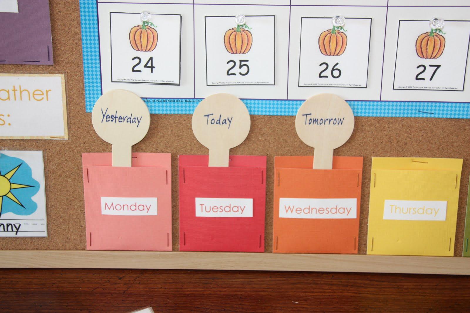 Nursery Calendar Ideas : Counting coconuts our classroom calendar circle time