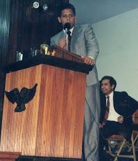 Unas cuantas lunas atrás en la Iglesia del Hno Galdona 1992