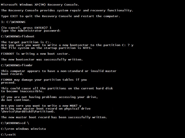 how to find administrator password windows xp
