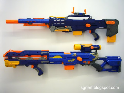 Nerf N-Strike Elite Longshot CS-6 Unboxing and Review - YouTube