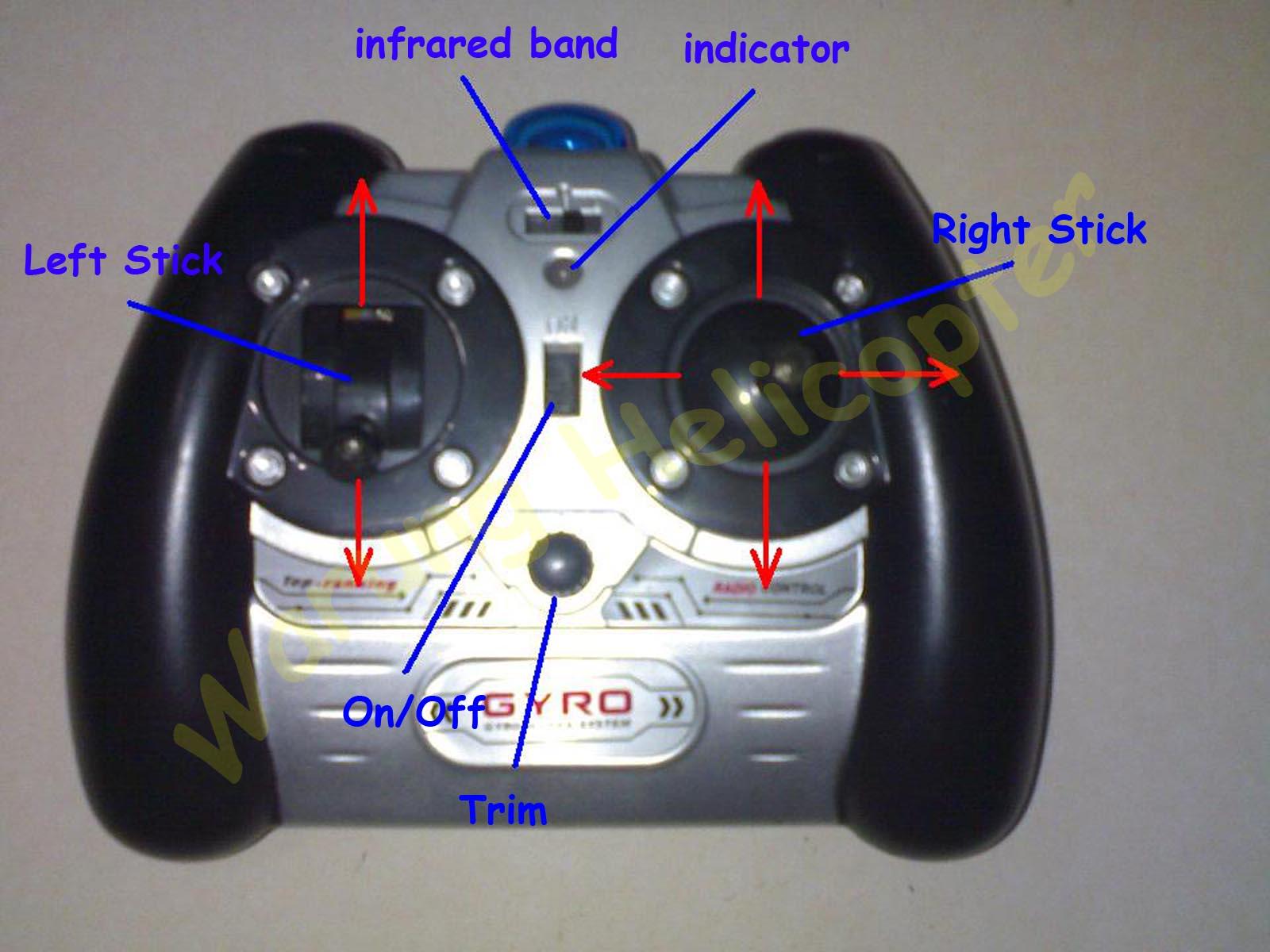 как работает игрушечный вертолёт hx713 v-max инструкция