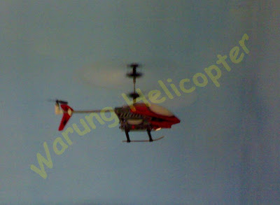 learning basic rc helicopter 3ch