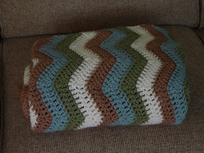 Easy Ripple Crochet Pattern – Catalog of Patterns