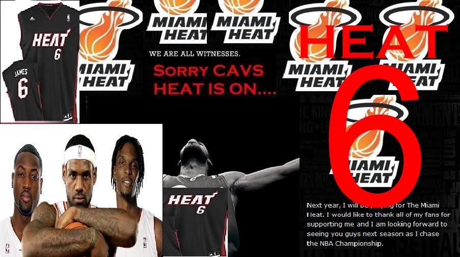 lebron james heat 6. Yes, that true LeBron James