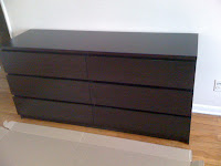 How To Build An Ikea Malm 6 Drawer Dresser Step By Photos