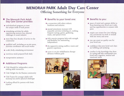 adult daycare alternative essays Medicaid's benefits and adult day care, adult day health care and alzheimer's day treatment, a state-by-state guide to coverage  alternative care program.