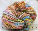 Eye Candy 2 HandDyed HandSpun Art Yarn 84 yards merino wool -$37-